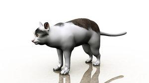 cat meme 3D model