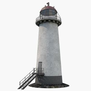 lighthouse light house model