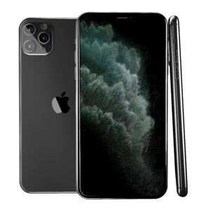 3D model iphone 11 pro space