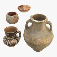 Ancient Saudi Pottery Collection