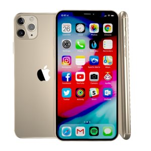 iphone 11 pro gold 3D