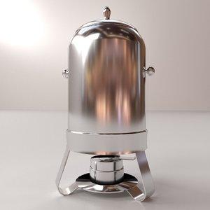 tea urns 3D model