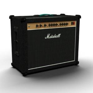 guitar amp marshall amplifier 3D model