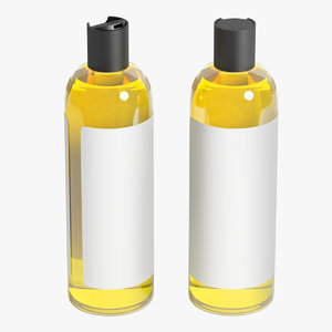 shampoo bottle 3D model