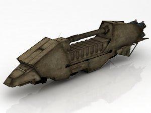 action vi transport 3D model