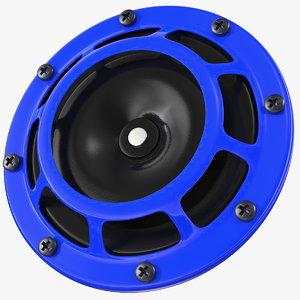 3D tone car horn 500hz