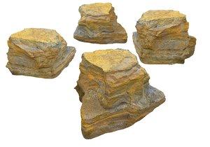 3D geyser rock model