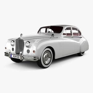 3D model 1951 hq interior