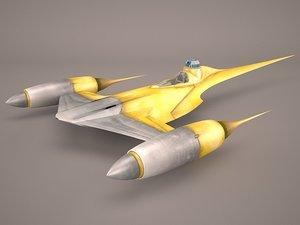 star wars naboo royal 3D model