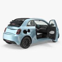Fiat 500 Cabrio LaPrima Rigged
