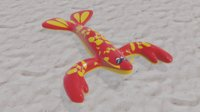 3D Handsome Lobster Inflatable Pool Toy