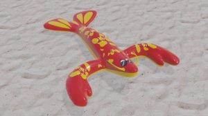 3D cool handsome lobster inflatable