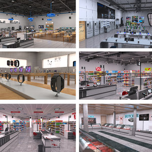 store shop 3D