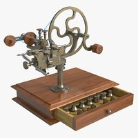 Watchmakers  Tool Gear Cutting Lathe