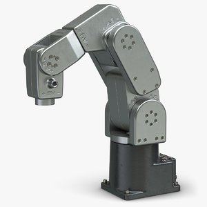 3D robot arm meca 500 model