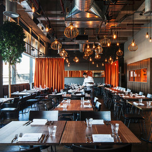 architecture restaurant bar interior 3D model