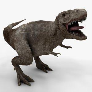 3D rex l974 animate