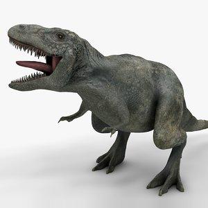 3D rex l973 animate model