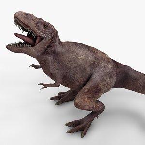 rex l972 animate 3D model