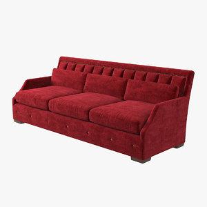 3D lexington audrey sofa