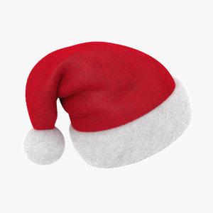 santa hat 3D