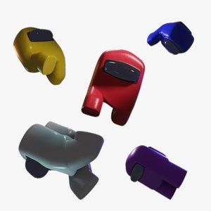 3D 2d character model