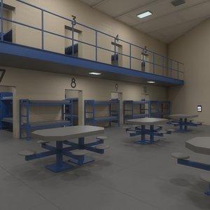 3D jail pbr model