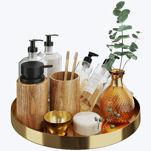 3D model zara home decorative set