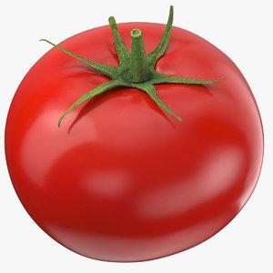 3D tomato leaf model