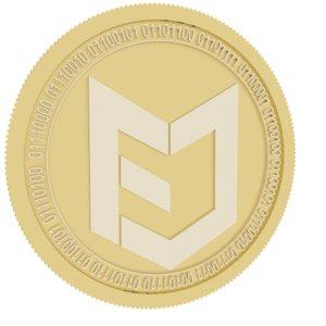 token economy doin ted 3D model