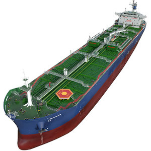 vessel tanker oil products 3D