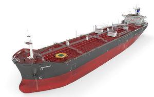 3D vessel tanker oil products