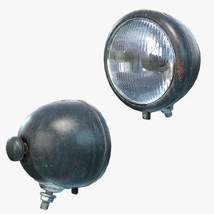 3D ready headlight