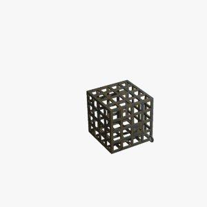 3D model cage key
