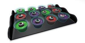 3D jello shot tray model
