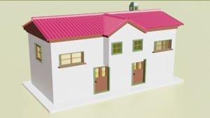3D house old model