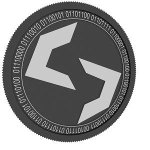 torque black coin 3D