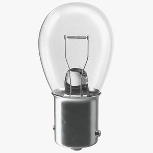 p21w ba15s halogen light 3D