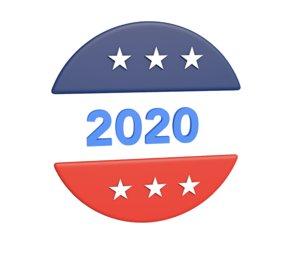 2020 election 3D