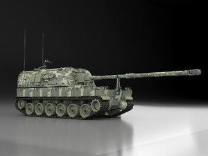 3D model firtina turkish
