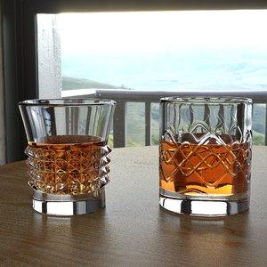 whiskey glasses 3D