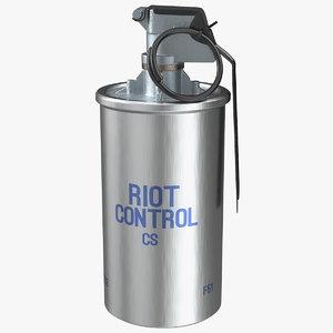 abc m7a2 riot control model