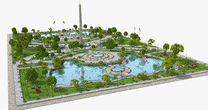 3D lake park