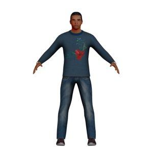 latino man 3D model