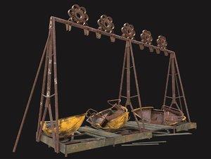 3D boat swing pripyat