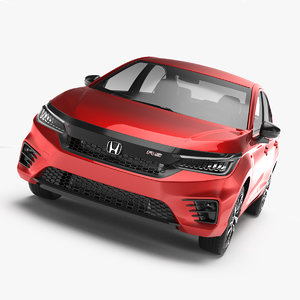 3D honda city rs