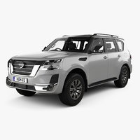 Nissan Patrol Ti L with HQ interior 2020