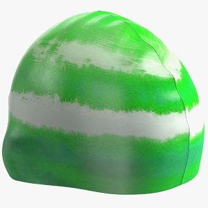 waterproof bathing cap water model