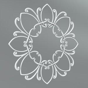 classical decoration model