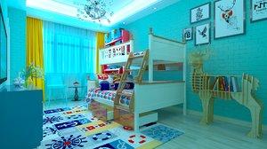 3D children s room